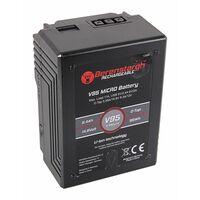 Für weitere Info hier klicken. Artikel: Berenstargh MICRO V95 V-Mount Battery mit 95Wh,6400mAh,14,8V,USB5V/2.4A