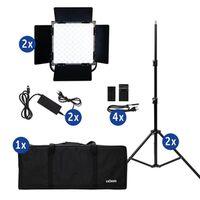 Für weitere Info hier klicken. Artikel: Dörr LED Dauerlicht DLP-1000 RGB Set
