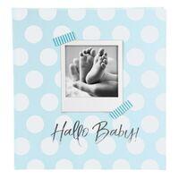 Für weitere Info hier klicken. Artikel: goldbuch Babyalbum Hallo Baby 60 weiße Seiten blau 300x310x40 mm