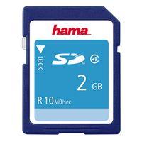 Für weitere Info hier klicken. Artikel: Hama SD, Class 4 2 GB