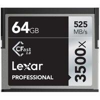 Für weitere Info hier klicken. Artikel: Lexar CFast Professional, 525MB/s 64 GB