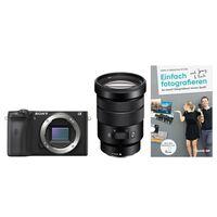 Für weitere Info hier klicken. Artikel: Sony Alpha 6600 (ILCE-6600) + SEL 18-105mm f/4,0 OSS PZ + Buch Einfach fotografieren lernen
