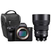 Für weitere Info hier klicken. Artikel: Sony Alpha 7 III (ILCE-7M3) + Sigma AF 85mm f/1,4 DG DN ART + Manfrotto Halfter Advanced2 M