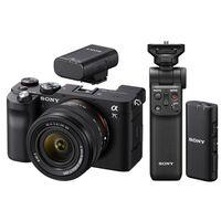 Für weitere Info hier klicken. Artikel: Sony Alpha 7C (ILCE-7C) Gehäuse + SEL 28-60 + Bluetooth Mikrofon + Bluetooth Griff schwarz
