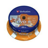 Für weitere Info hier klicken. Artikel: Verbatim DVD-R 4.7GB/120Min/16x Cakebox 25er-Pack