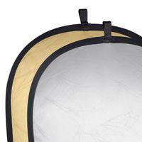 Für weitere Info hier klicken. Artikel: Walimex 2in1 Faltreflektor silber/gold 145x200cm