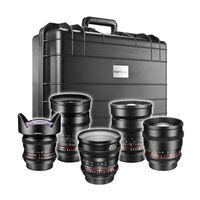 Für weitere Info hier klicken. Artikel: Walimex pro Video UWW-Portrait Set 5x Canon EF