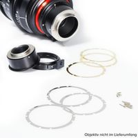 Für weitere Info hier klicken. Artikel: XEEN Mount Kit Canon EF 20, 24, 35, 50, 85mm