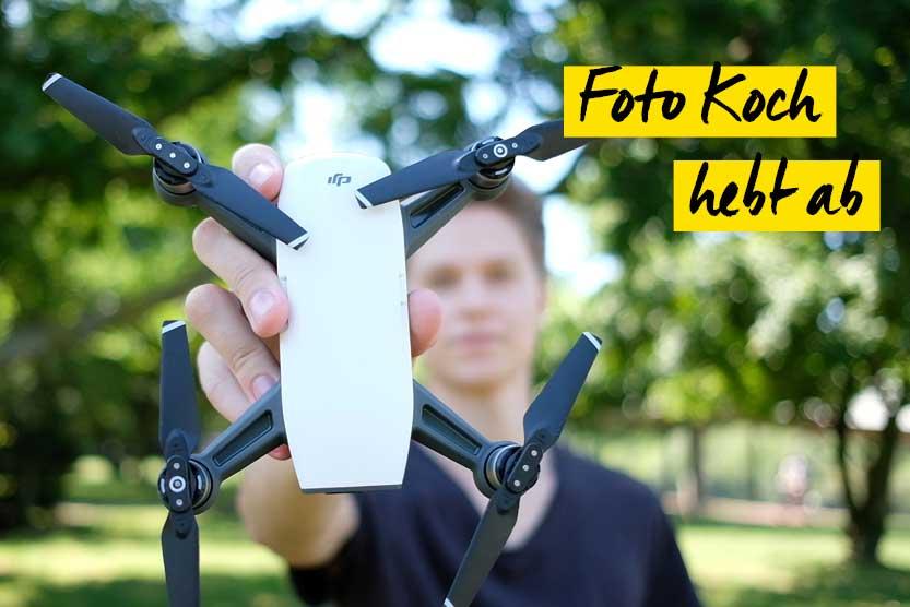 Neue Drohnenwelt bei Foto Koch