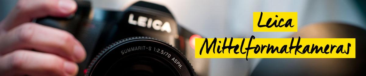 Leica Mittelformatkameras