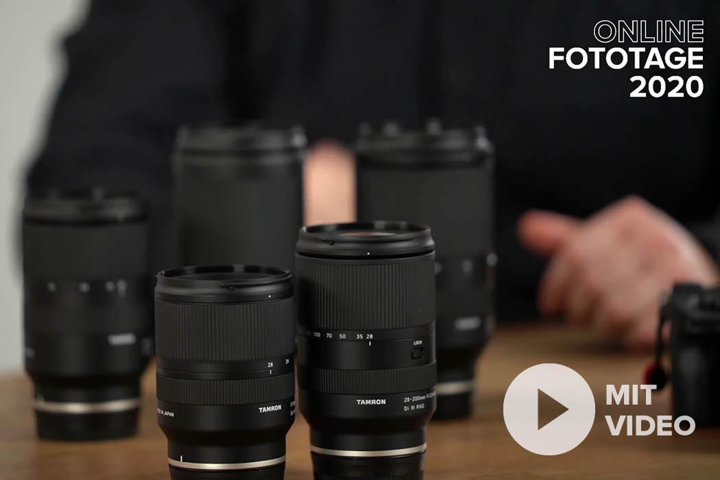 Alternativen für Sony E - Tamron Objektive