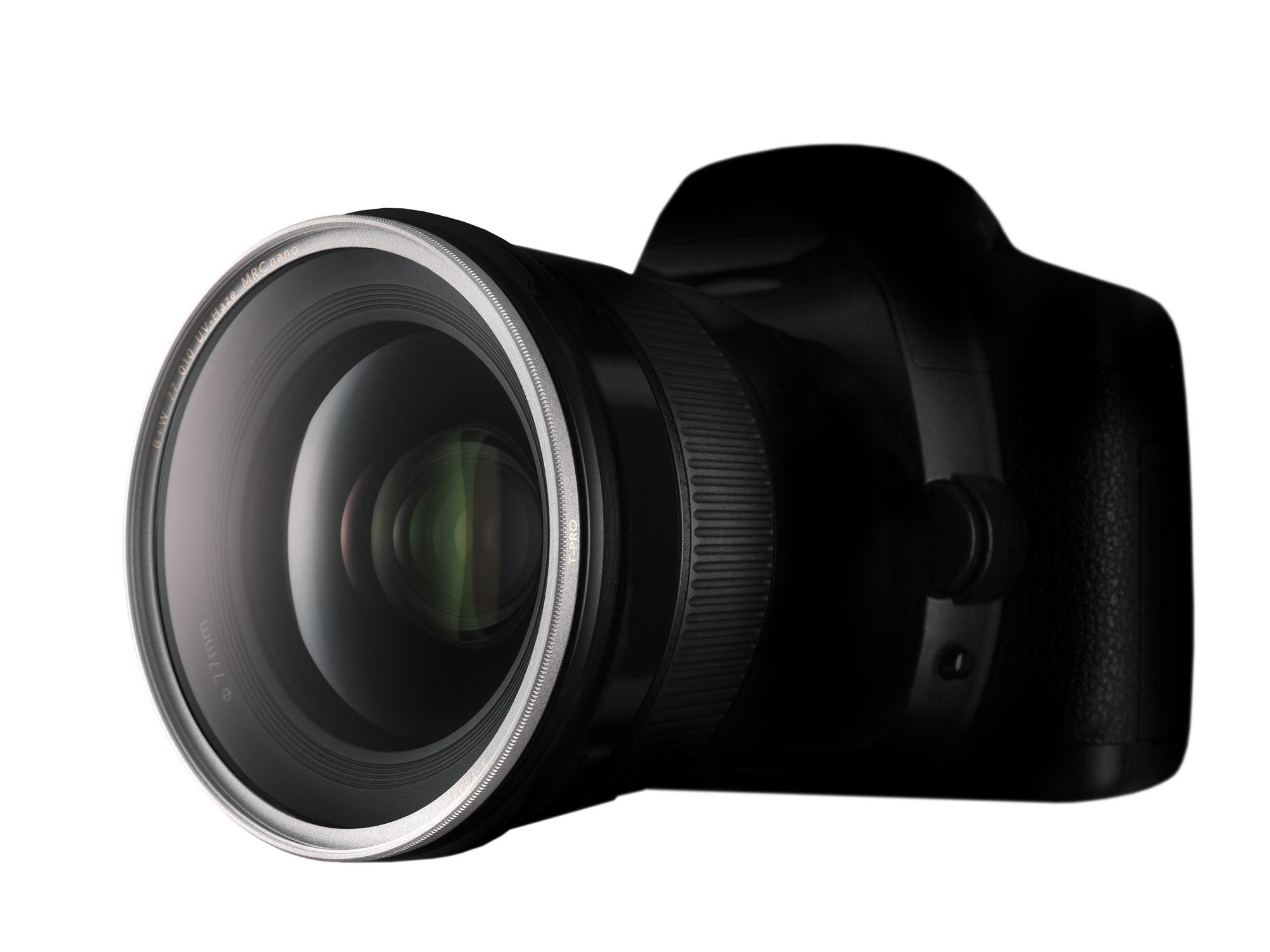 ND-Filter an der Kamera