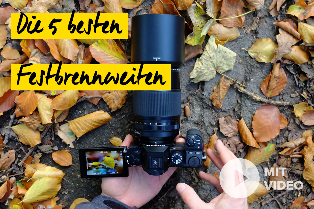 Fujifilm Festbrennweiten